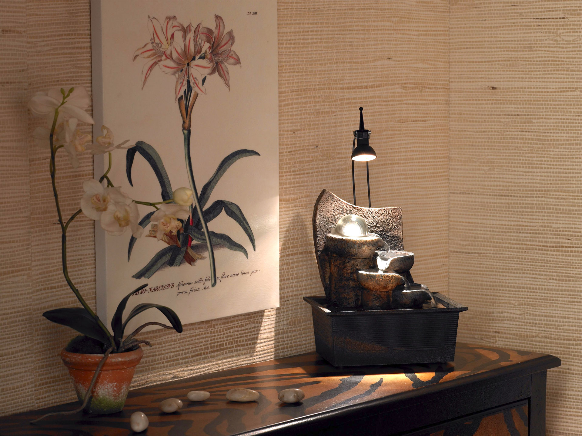 Decorating With Indoor Fountains