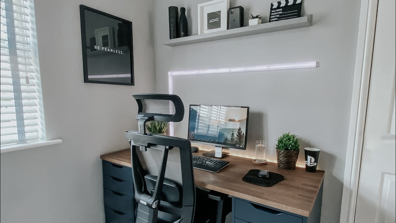 Home Office Desk Feng Shui